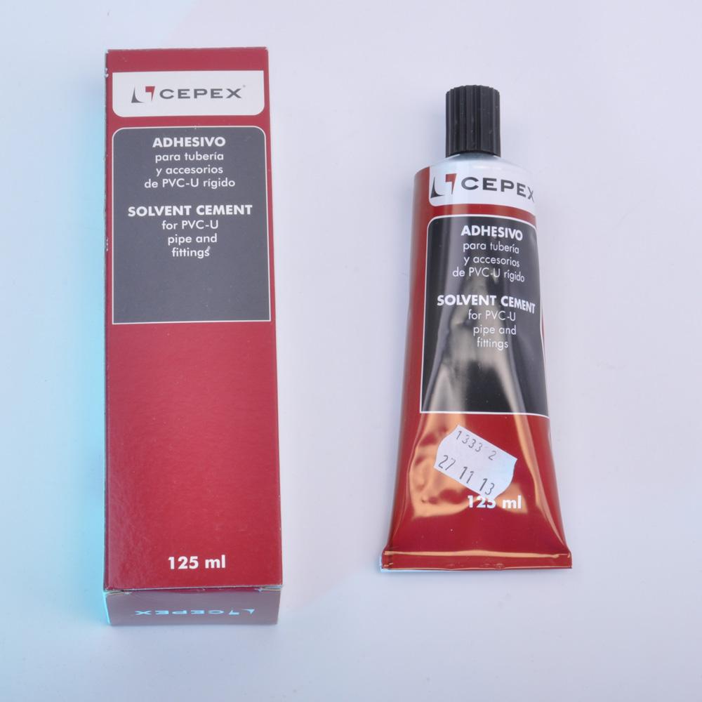 Cepex PVC - U Kleber 125g Tube