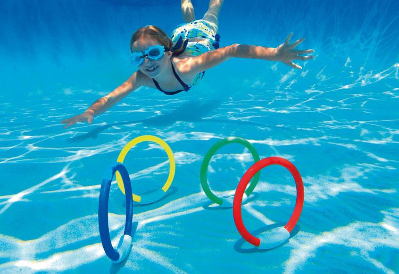 Intex Tauchringe Tauchspiel Dive Ring Set