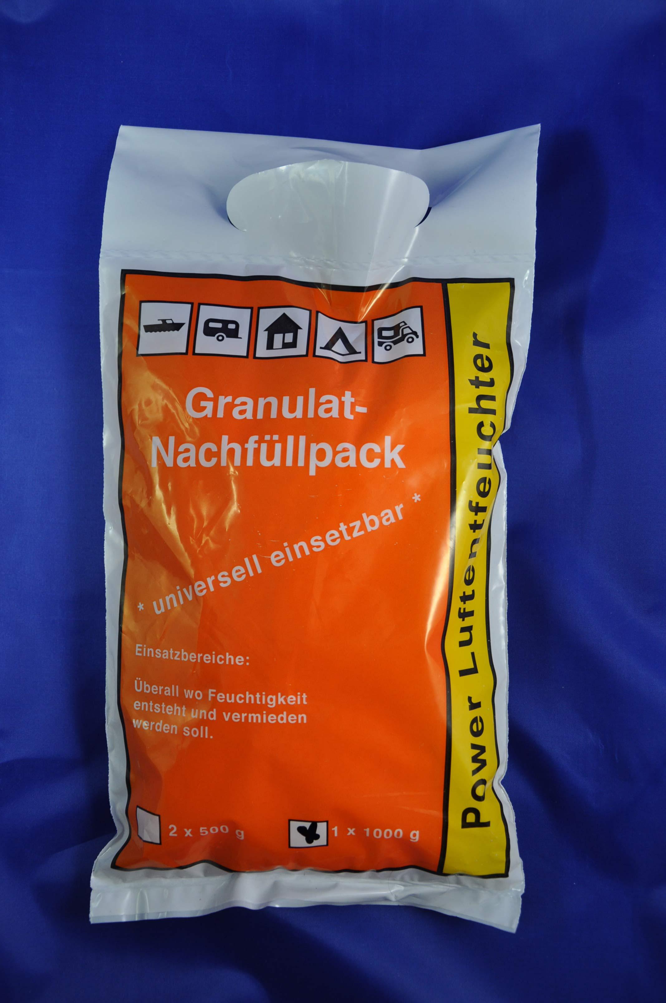Nein Luftentfeuchter Raumentfeuchter 1 Kg Nachfüll Granulat im Fließbeutel