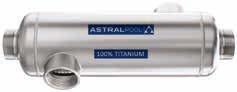 AstralPool 20 kW Titan Wärmetauscher