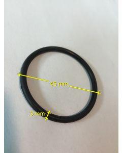 Dichtung, Ansaugung/transparenter Vorfilterdeckel Durchm: 45mm 3mm Stark