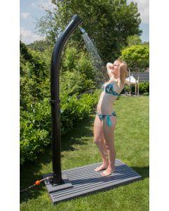 Speedshower Solardusche Magic Gartendusche, Bodenplatte nicht im Lieferumfang enthalten!