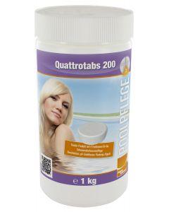 1 Kg Quattrotabs 200 - Multifunktionstablette 4 in 1 200g