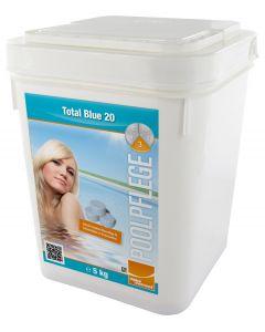 Aqua Correct Total Blue 20 Multifunktionstablette für Kartuschen- und Sandfilter 5kg