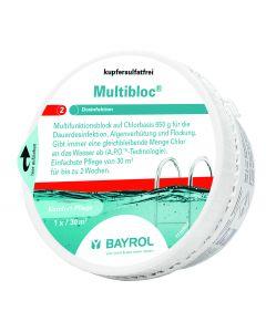 Multibloc Multifunktions Chlorblock 650g zur Dauerdesinfektion für Pools bis 30m³ 0,65 Kg