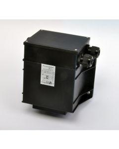 Transformator 600VA, 12V - 230V mit 2 Ausgängen für 2 x UWS 300Watt