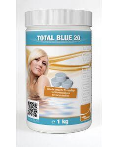 Aqua Correct Total Blue 20 Multifunktionstablette für Kartuschen- und Sandfilter 1kg