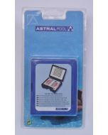 Astralpool Brom/Chlor und pH Testkit DPD + Phenolred Tabletten inkl. Schauglas