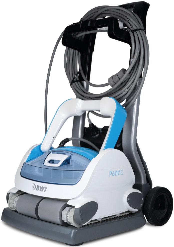 Poolroboter P600 Reinigung von Boden, Wand und Wasserlinie für Pools bis zu 15m Länge mit App Steuerung