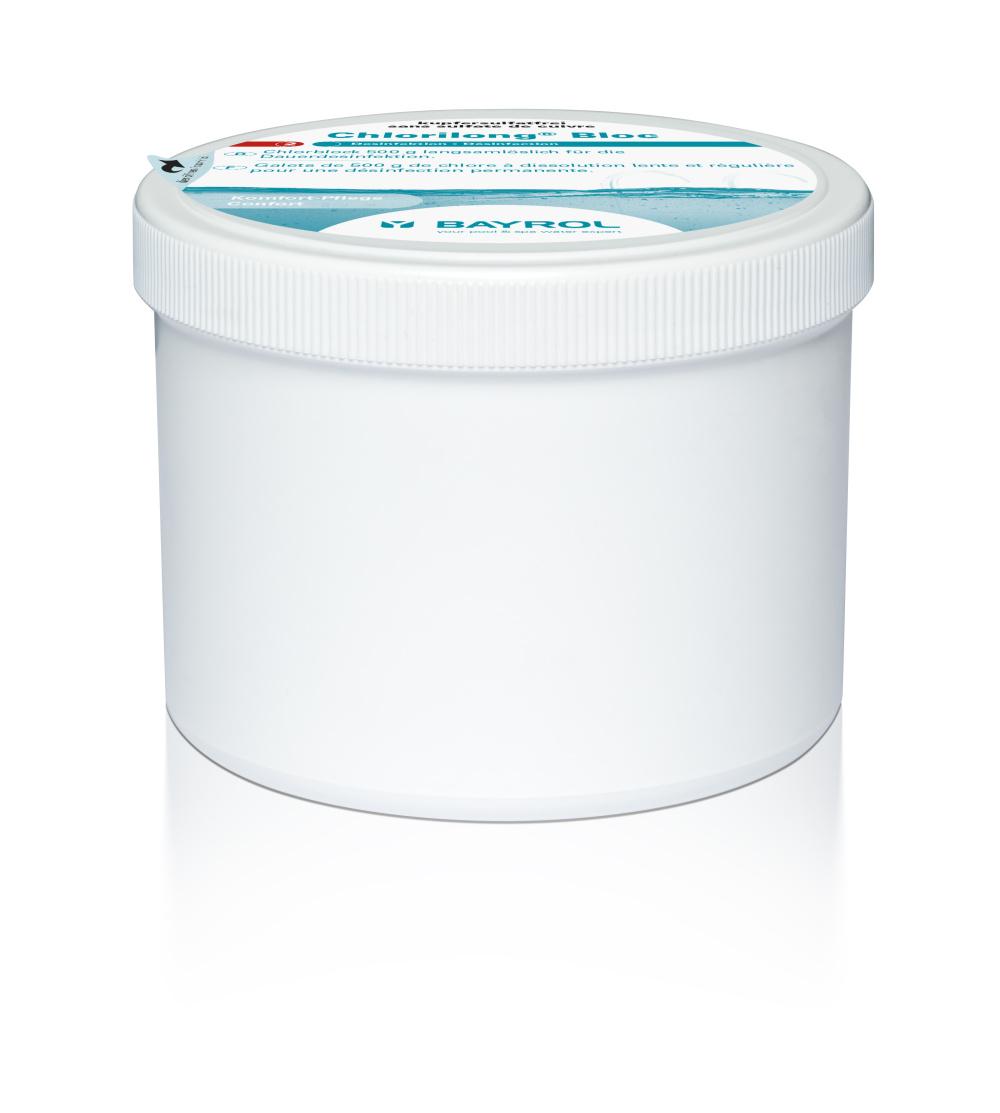 Chlorilong Bloc 500, langsamlöslich, für Pools bis 30m³ 0,5 Kg