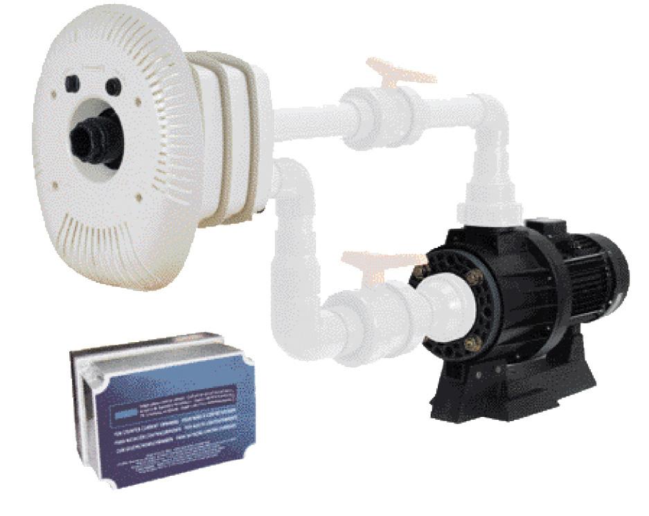 Gegenstromanlagen Set Marlin, 400 V / 3,30 kW, 1.000 l/min