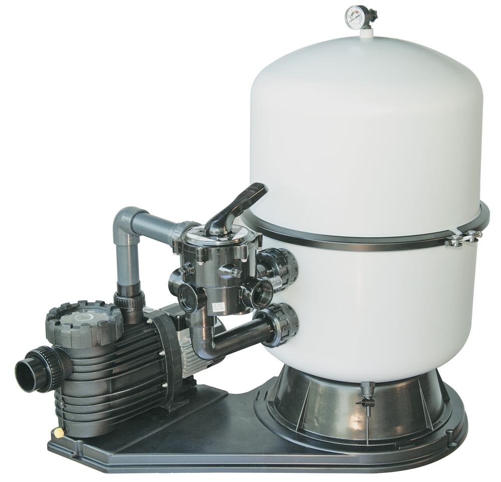 Bilbao 400 Sandfilteranlage mit Aqua Plus 8 Pumpe 0,60KW