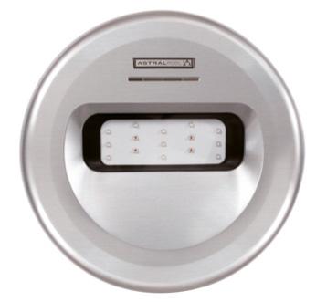 Lumiplus Design LED Unterwasserscheinwerfer RGB Komplettset aus ABS in Metalloptik