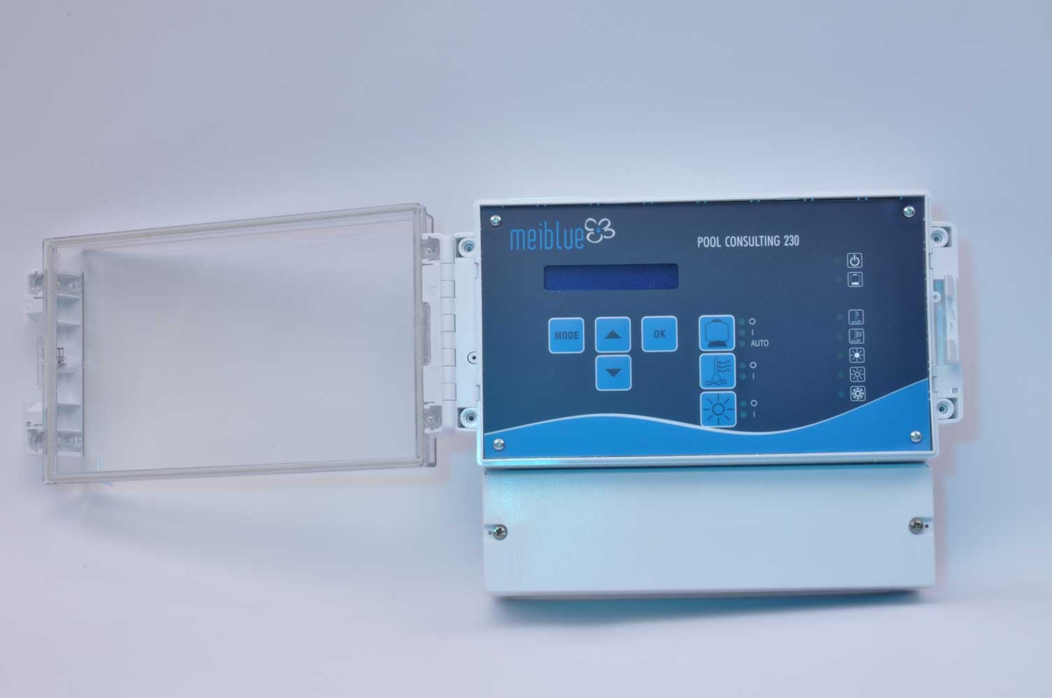 Meiblue PoolConsulting 230V Filter - Heizungs und Solarsteuerung -