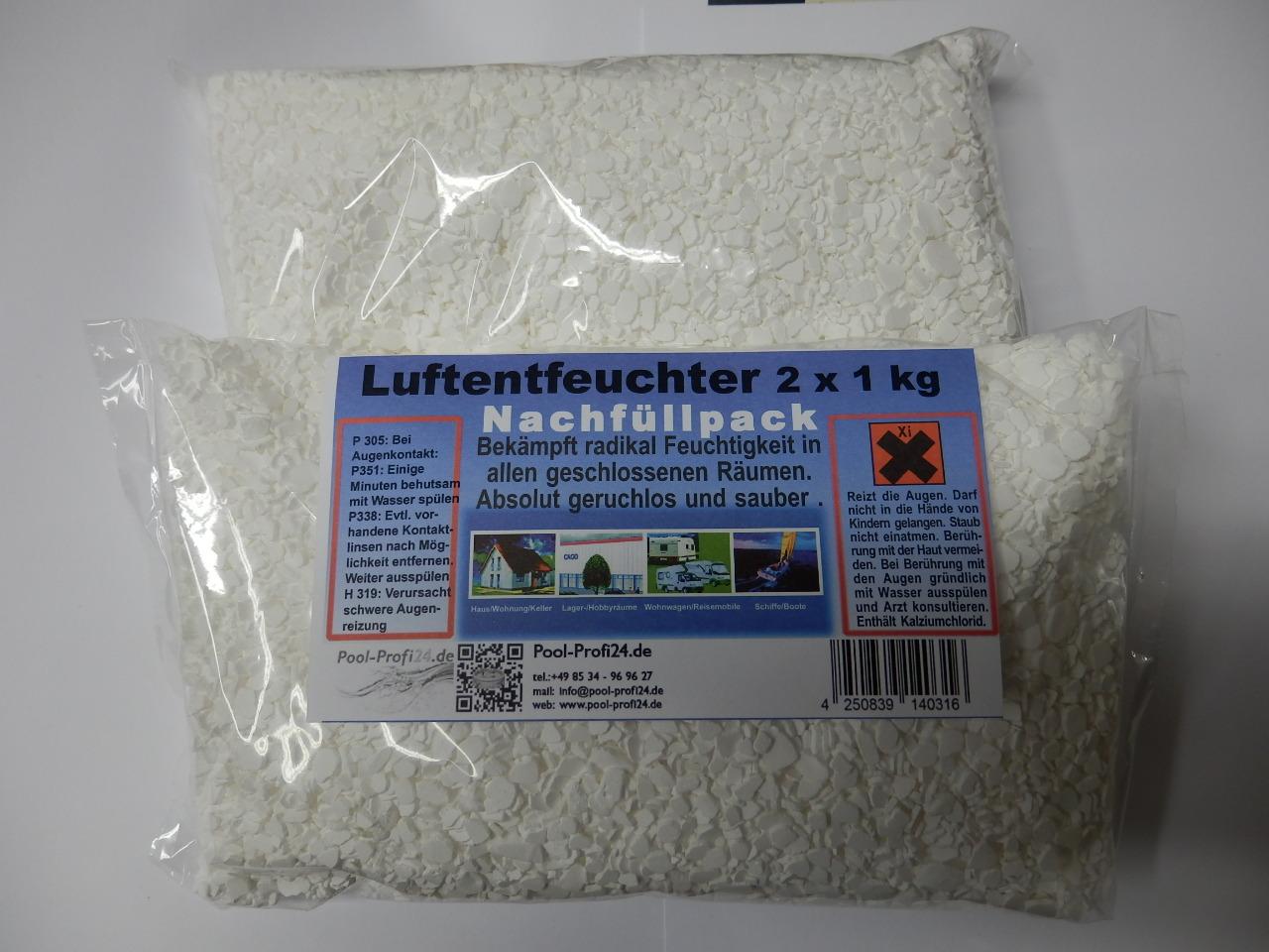 Luftentfeuchter Raumentfeuchter 10 Kg Nachfüll Granulat