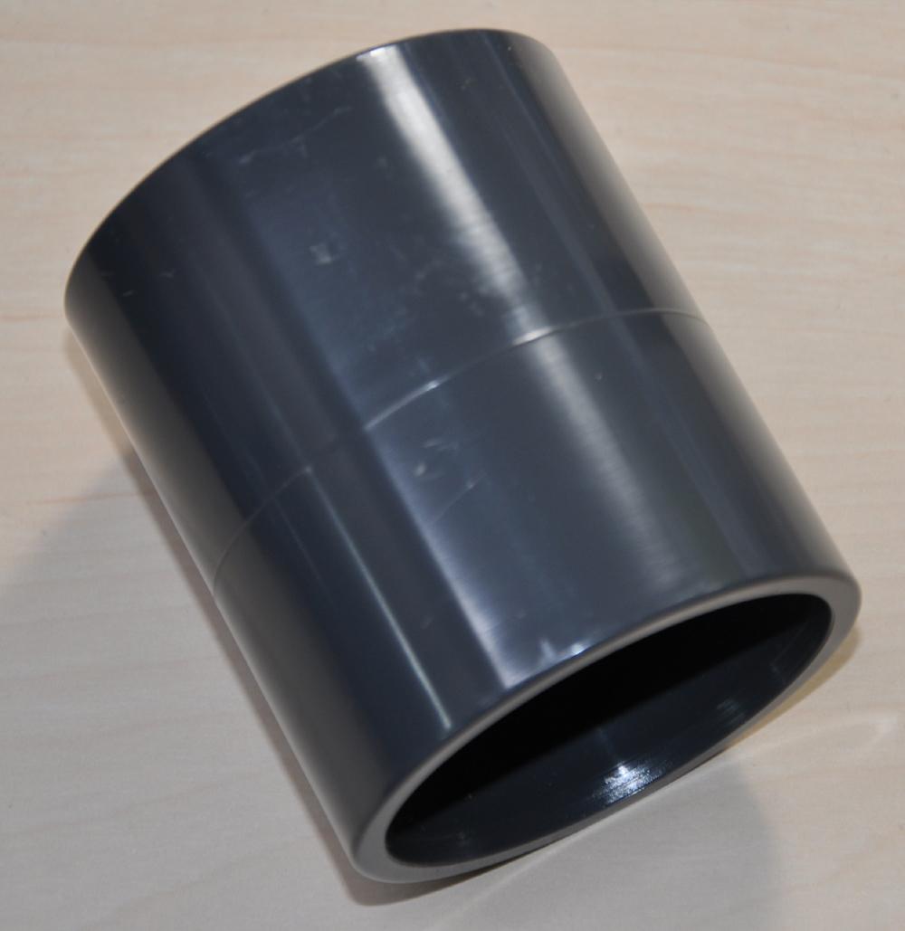 Muffe PVC Klebefitting PN 10 Muffe / Muffe d 50mm