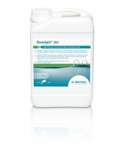 Desalgin Jet, flüssiges Algizid, schaumfrei, für Pools mit GSA und Wasserattraktionen 3 L