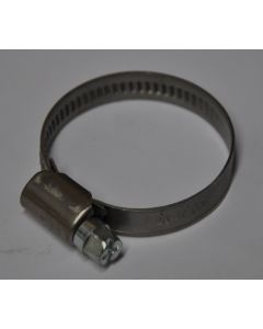 Rohrschelle 32 - 40mm  V2A Edelstahl