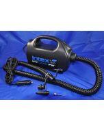 Elektrische Luftpumpe Quick Fill mit verschiedenen Adaptern, 12v, 220V
