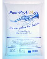 25kg Filterglas Filtergranulat für Sandfilteranlagen 0.5-1.0