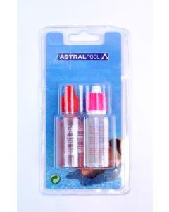 Astralpool Brom/Chlor und pH Test-kit flüssig Nachfüllpackung