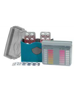Pool-Tester pH- u. Chlor mit 2x 20 Tabletten