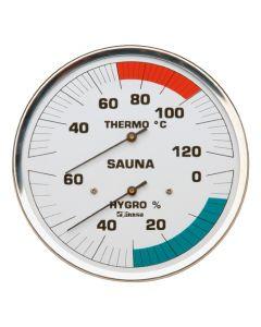 Finnsa Sauna-Hygrotherm 130 mm, -Klassik-