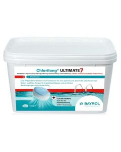 Chlorilong ® ULTIMATE 7 4.8kg – mit Clorodor Control® Kapsel