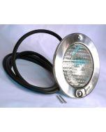 AstralPool Edelstahl Unterwasserscheinwerfer Einsatz inkl. Strahler 300W/12V Blende 250mm