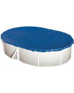Sommerabdeckplane für Ovalbecken 640 x 360 cm