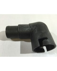 Schlauchanschluss Ø 32/38 mm, 90 °, L-Schlitzung Ersatzteil für Speed Solar Sun LDPE