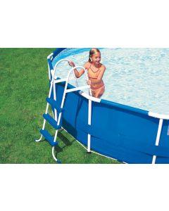 Intex Pool Leiter ohne Plattform 91cm