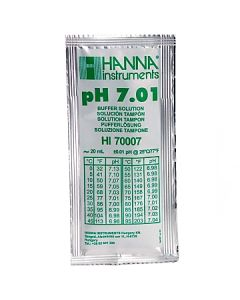 Hanna HI70007P pH 7,01 Kalibrierlösung 25 Beutel