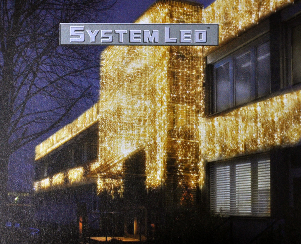 Logo System LED Systembeleuchtung mit verlinktem Produktkatalog